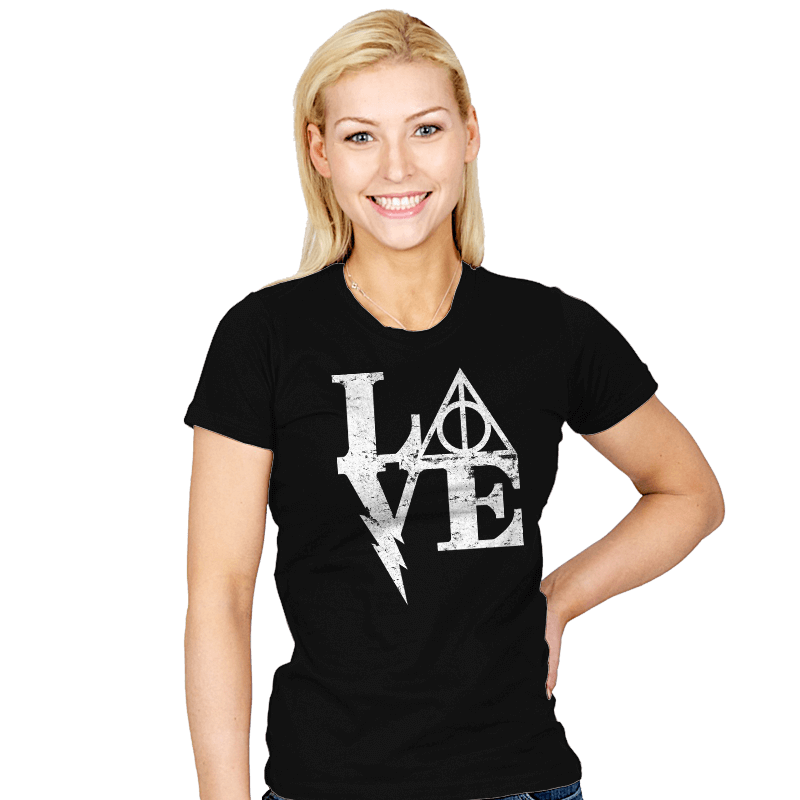 Harry Love - Womens - T-Shirts - RIPT Apparel