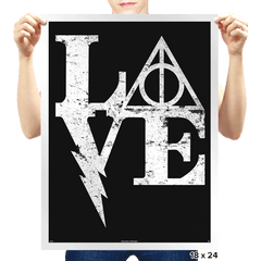 Harry Love - Prints - Posters - RIPT Apparel