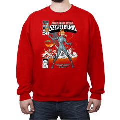 Secret Brawl - Crew Neck - Crew Neck - RIPT Apparel