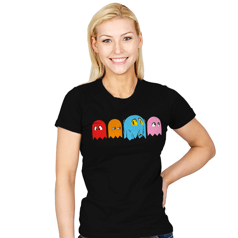 A Ghostly Disguise - Womens - T-Shirts - RIPT Apparel