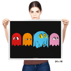 A Ghostly Disguise - Prints - Posters - RIPT Apparel