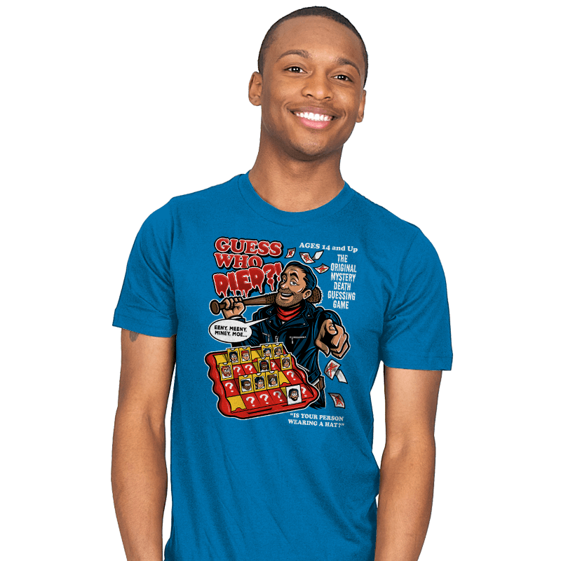 Guess Who Died?! - Mens - T-Shirts - RIPT Apparel