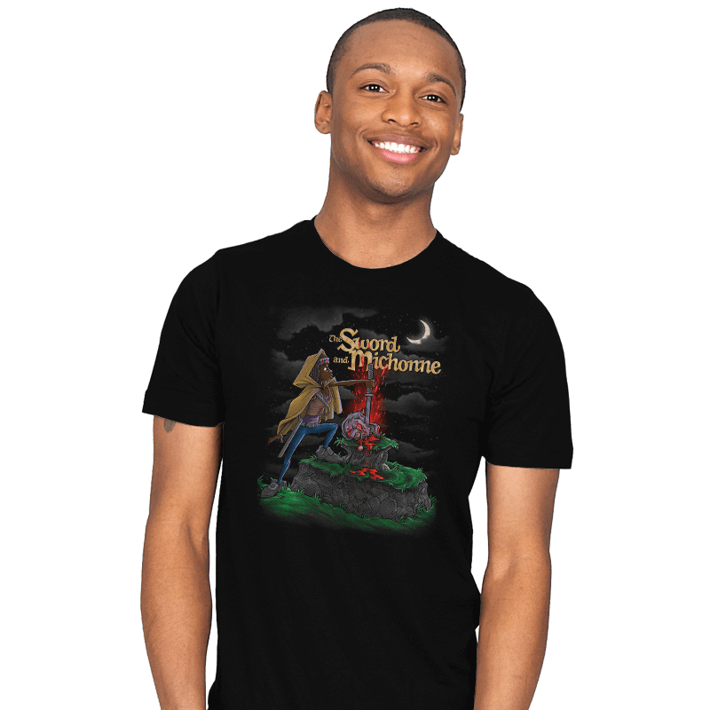The Sword and Michonne - Mens - T-Shirts - RIPT Apparel