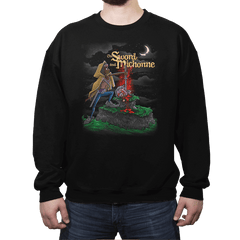 The Sword and Michonne - Crew Neck - Crew Neck - RIPT Apparel