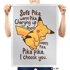 Soft Pika - Prints - Posters - RIPT Apparel
