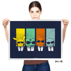 Reservoir Mons - Prints - Posters - RIPT Apparel