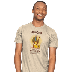 Captain Quint Spiced Rum - Mens - T-Shirts - RIPT Apparel