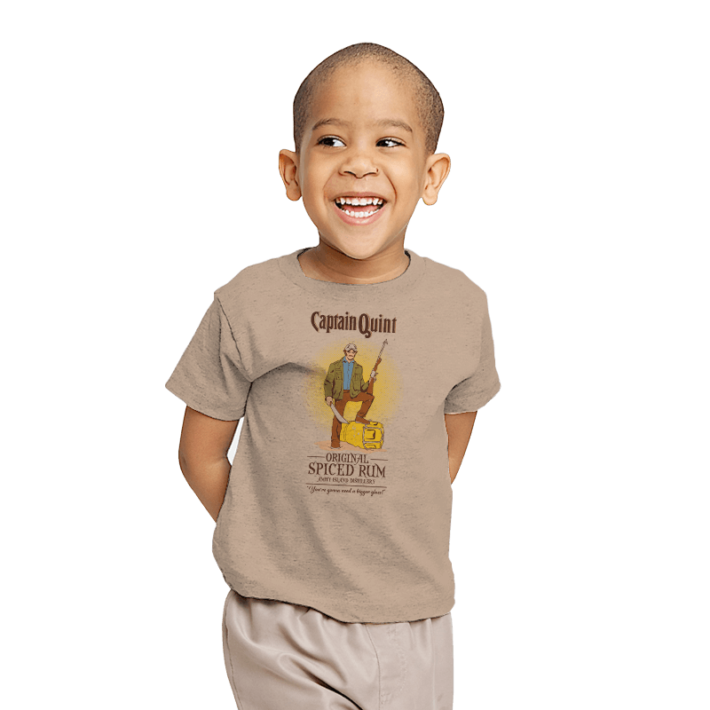 Captain Quint Spiced Rum - Youth - T-Shirts - RIPT Apparel