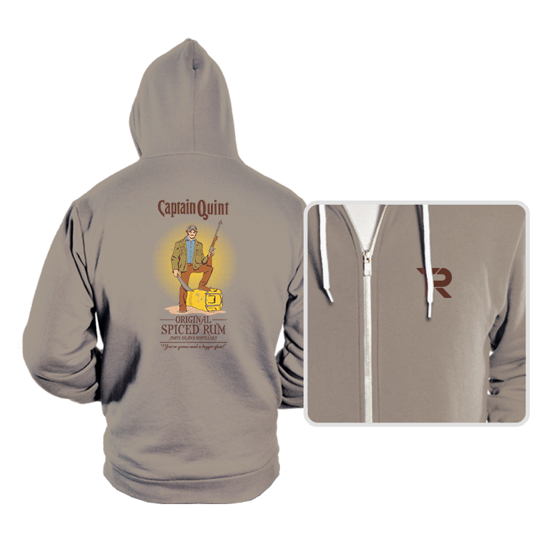 Captain Quint Spiced Rum - Hoodies - Hoodies - RIPT Apparel