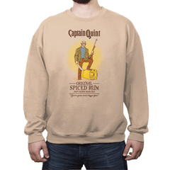 Captain Quint Spiced Rum - Crew Neck - Crew Neck - RIPT Apparel