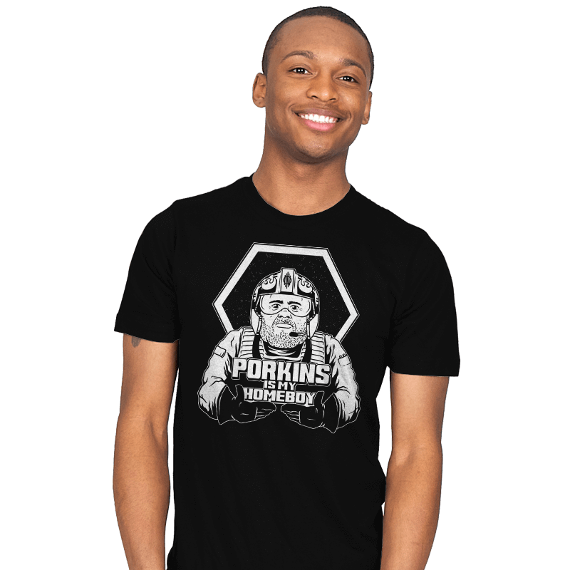 Porkins Is My Homeboy - Mens - T-Shirts - RIPT Apparel
