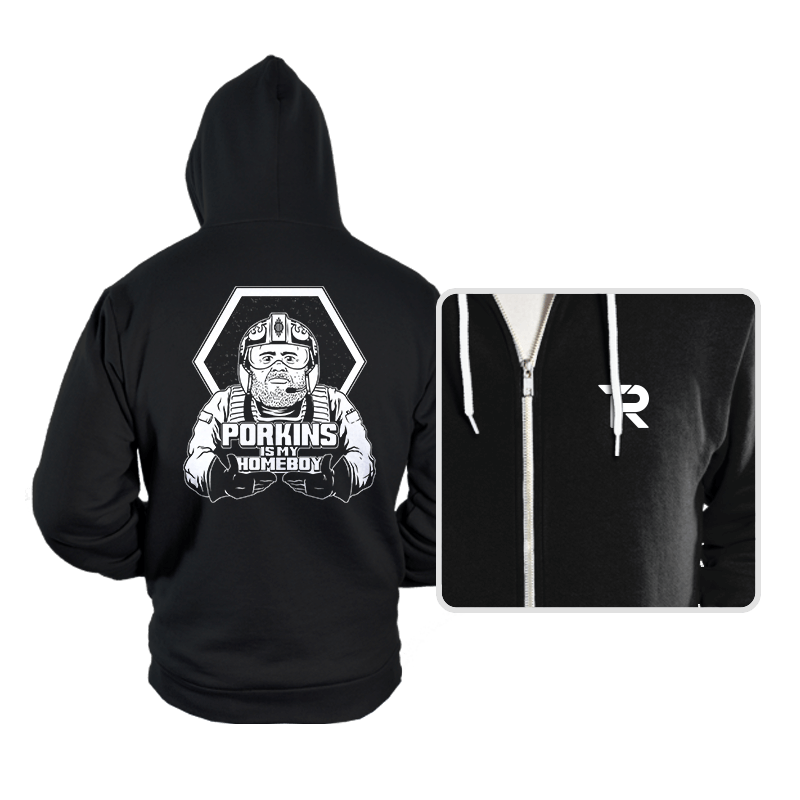 Porkins Is My Homeboy - Hoodies - Hoodies - RIPT Apparel