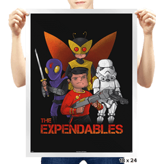 The Expendables Exclusive - Prints - Posters - RIPT Apparel