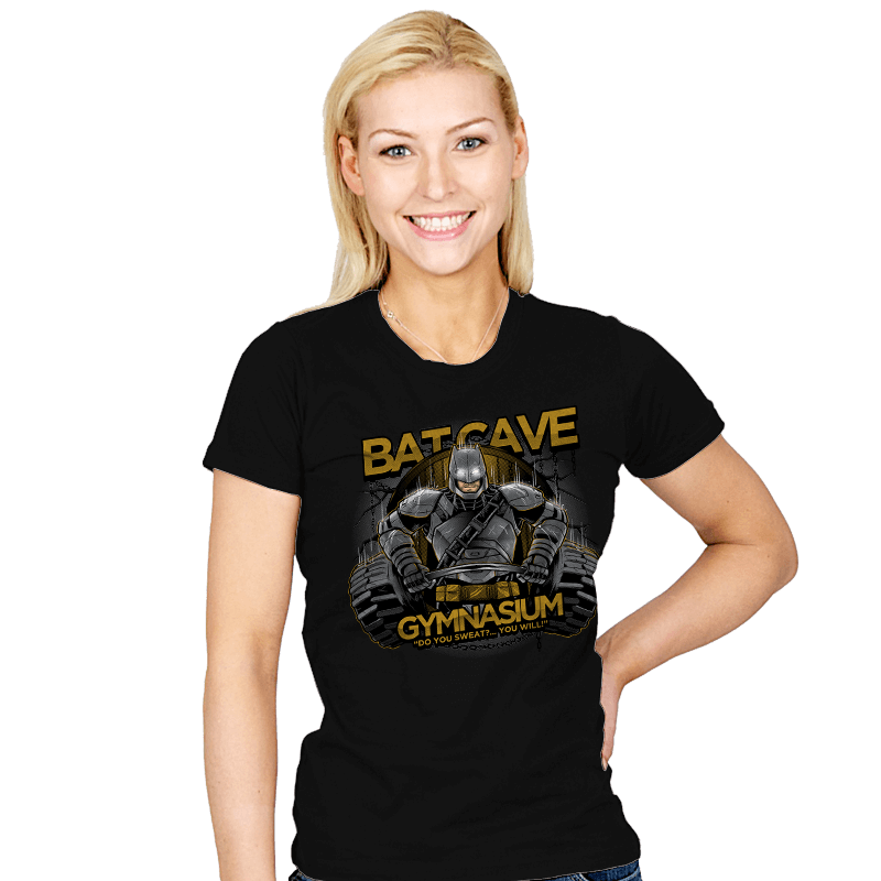 Bat Cave Gym Exclusive - Womens - T-Shirts - RIPT Apparel