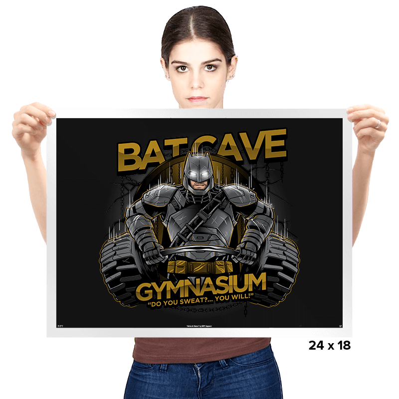 Bat Cave Gym Exclusive - Prints - Posters - RIPT Apparel