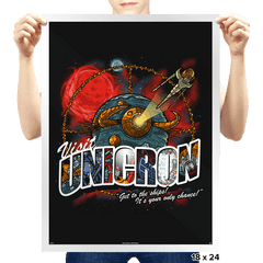Visit Unicron Exclusive - Prints - Posters - RIPT Apparel