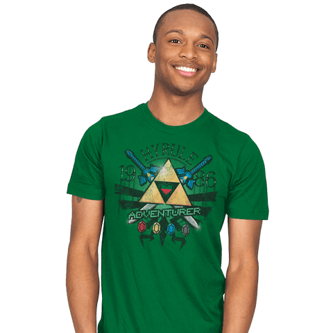 Hyrule Adventurer Exclusive - Mens - T-Shirts - RIPT Apparel