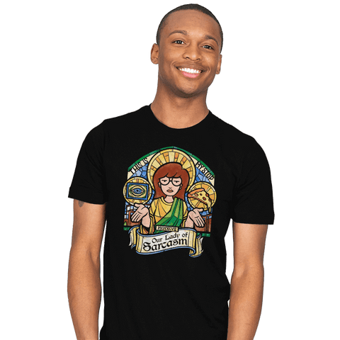 Our Lady of Sarcasm Exclusive - Mens - T-Shirts - RIPT Apparel