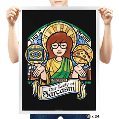 Our Lady of Sarcasm Exclusive - Prints - Posters - RIPT Apparel