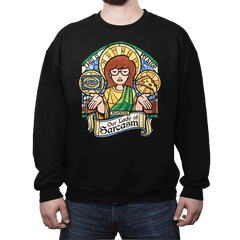 Our Lady of Sarcasm Exclusive - Crew Neck - Crew Neck - RIPT Apparel