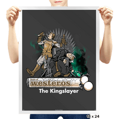 The Kingslayer Exclusive - Prints - Posters - RIPT Apparel
