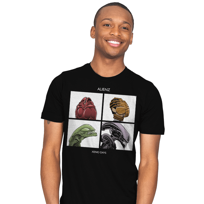 Xeno Days - Mens - T-Shirts - RIPT Apparel