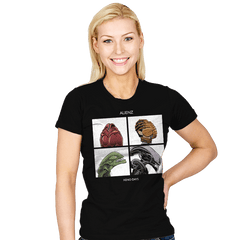Xeno Days - Womens - T-Shirts - RIPT Apparel