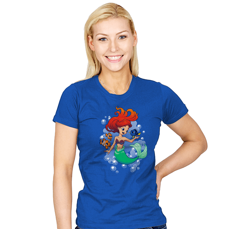 Finding Friends - Womens - T-Shirts - RIPT Apparel