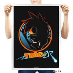 Detective Tracer - Prints - Posters - RIPT Apparel