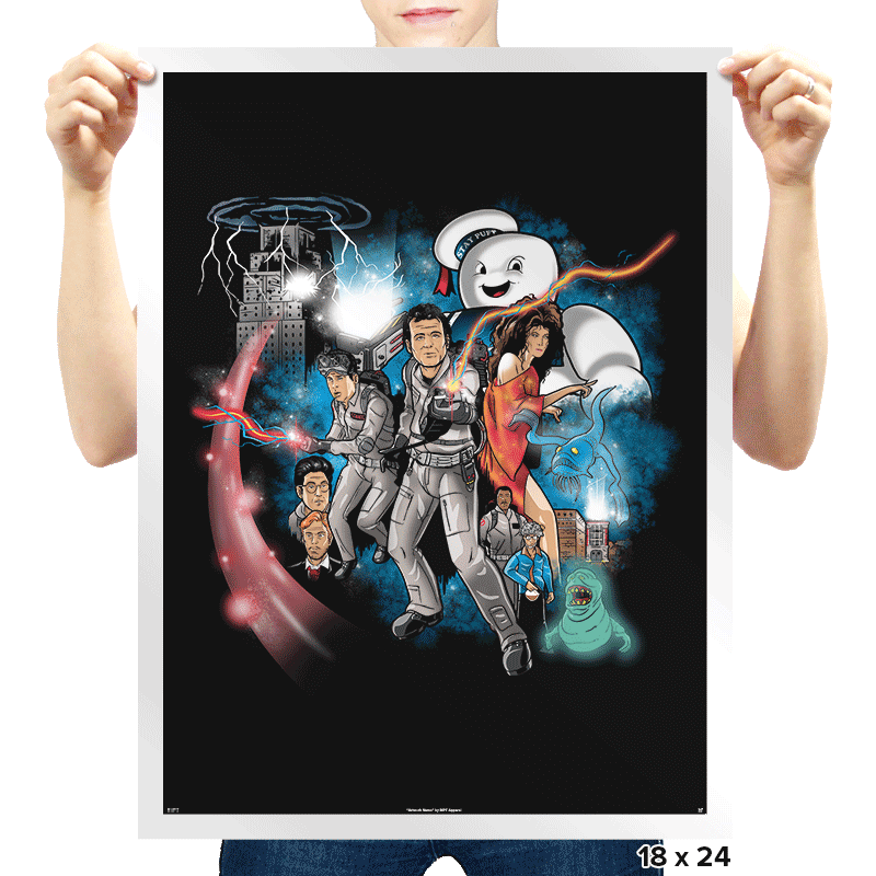A New Ghost - Prints - Posters - RIPT Apparel
