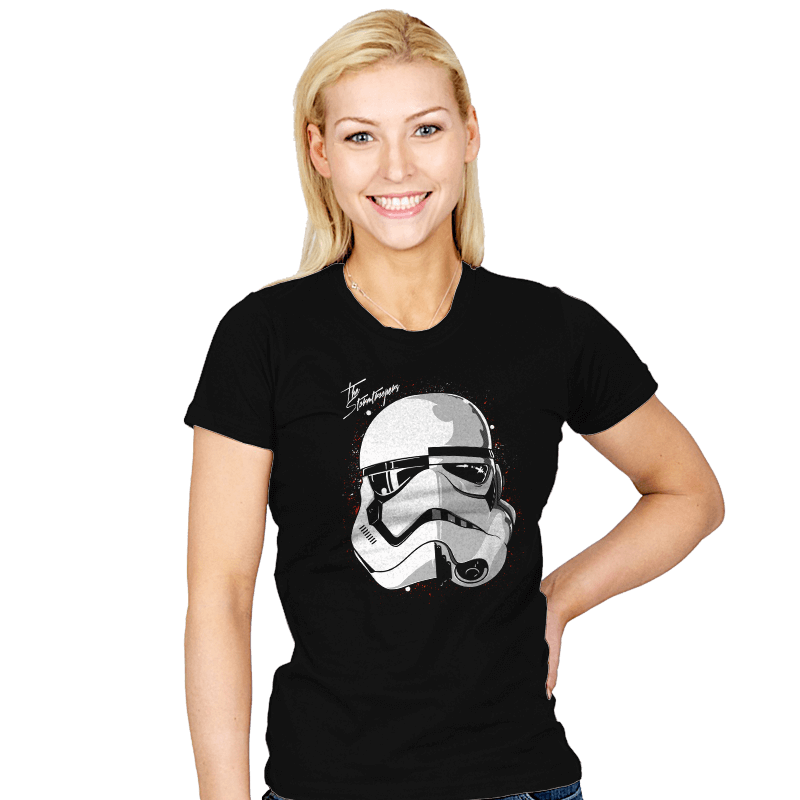 Daft Troopers - Womens - T-Shirts - RIPT Apparel