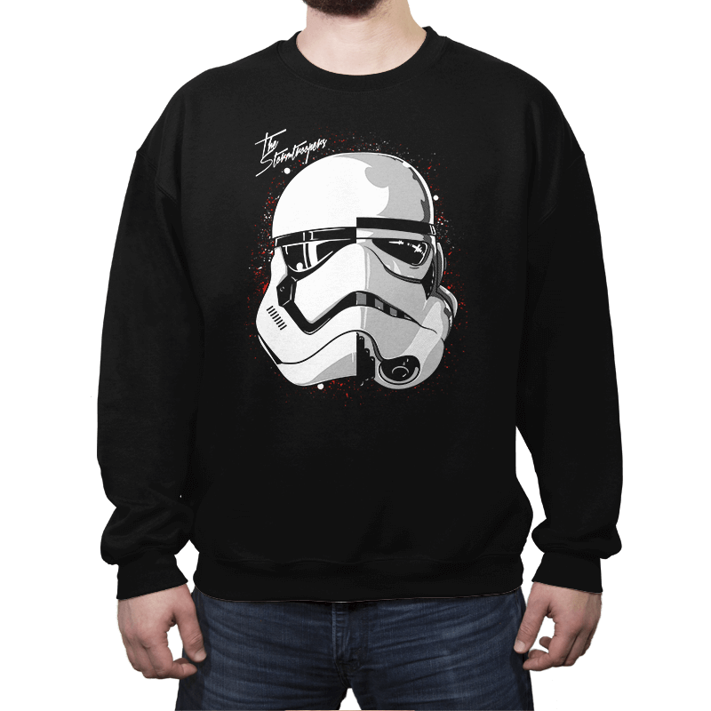 Daft Troopers - Crew Neck - Crew Neck - RIPT Apparel