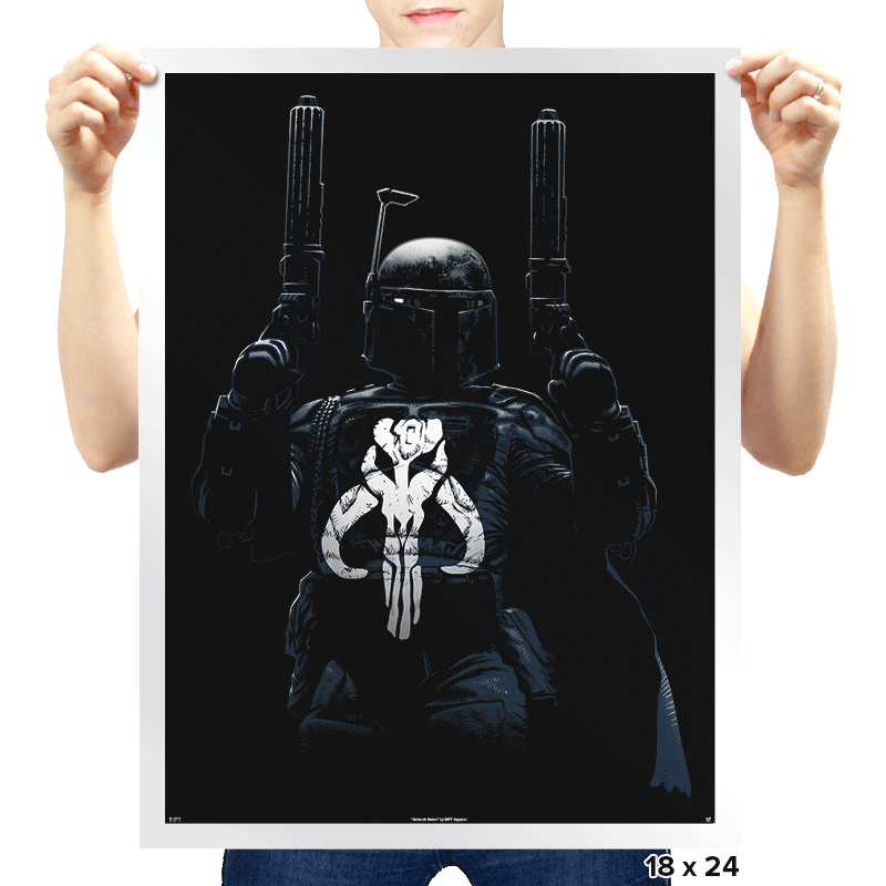 Galactic Punisher - Prints - Posters - RIPT Apparel