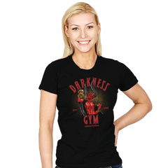 Darkness Gym - Womens - T-Shirts - RIPT Apparel