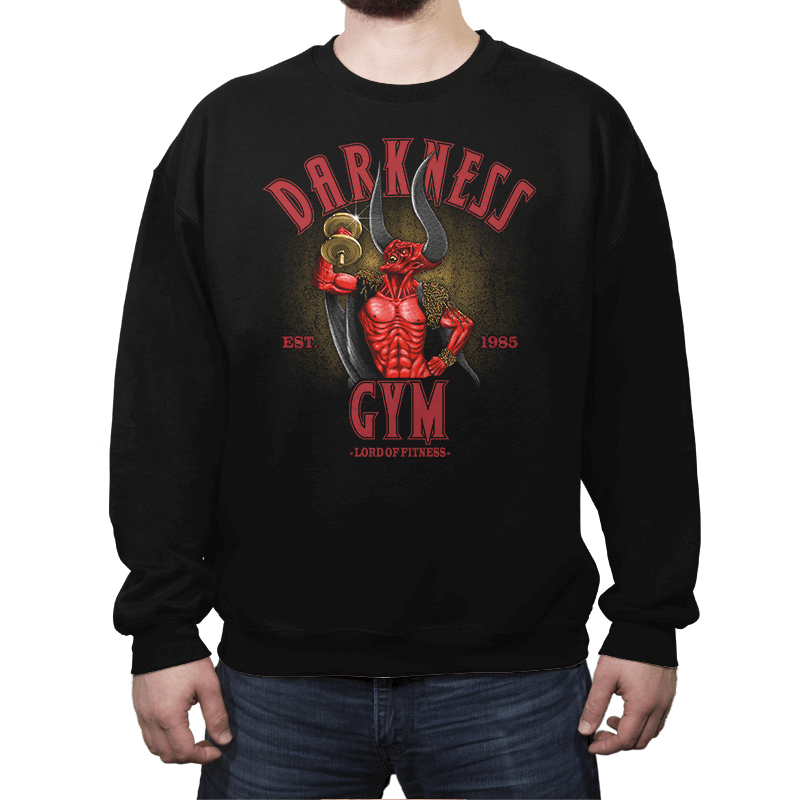 Darkness Gym - Crew Neck - Crew Neck - RIPT Apparel