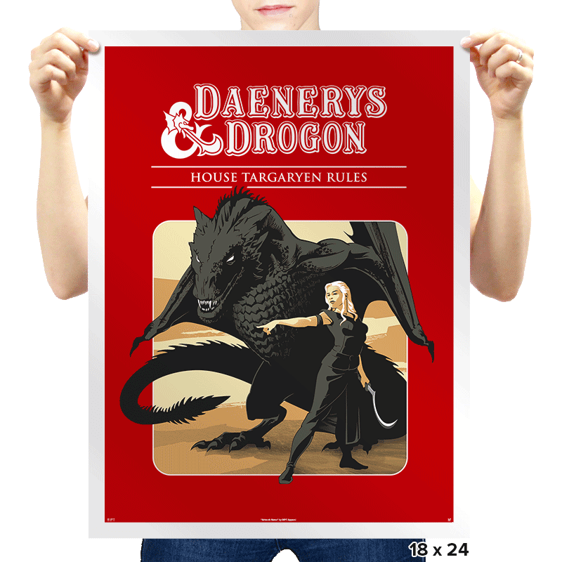 D&D - Prints - Posters - RIPT Apparel