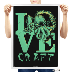 Cthulove - Prints - Posters - RIPT Apparel