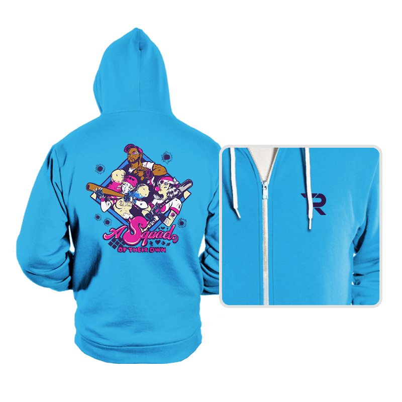A Squad of Their Own - Hoodies - Hoodies - RIPT Apparel
