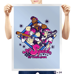 A Squad of Their Own - Prints - Posters - RIPT Apparel