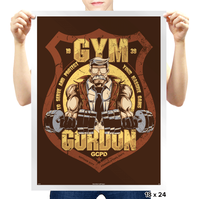 Gym Gordon - Prints - Posters - RIPT Apparel