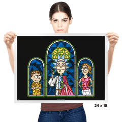 Sacred Booze - Prints - Posters - RIPT Apparel