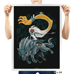 Twilight Mononoke - Prints - Posters - RIPT Apparel