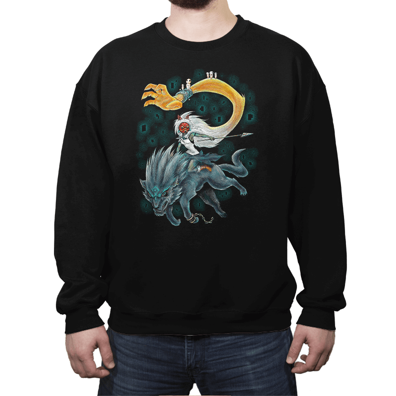 Twilight Mononoke - Crew Neck - Crew Neck - RIPT Apparel