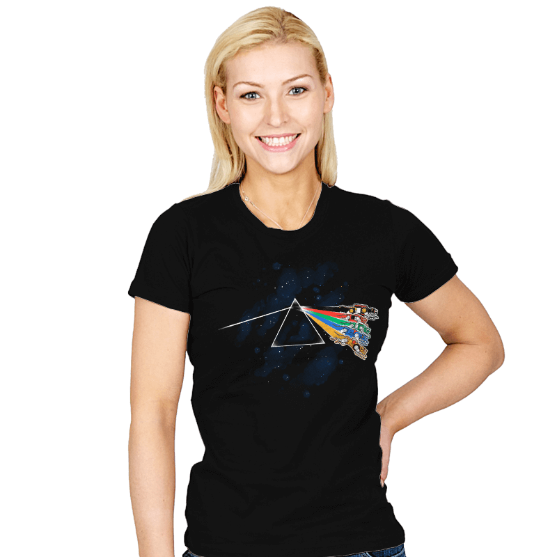 The Dark Side of Planet Arus - Womens - T-Shirts - RIPT Apparel