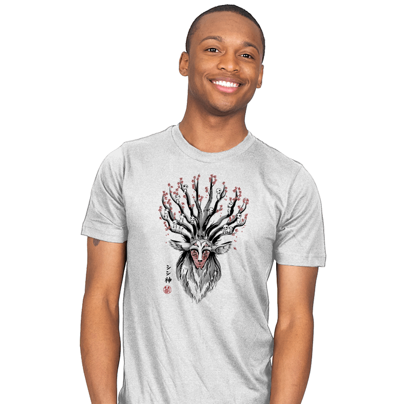 The Deer God sumi-e - Mens - T-Shirts - RIPT Apparel