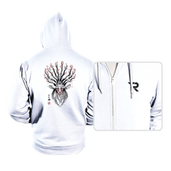 The Deer God sumi-e - Hoodies - Hoodies - RIPT Apparel