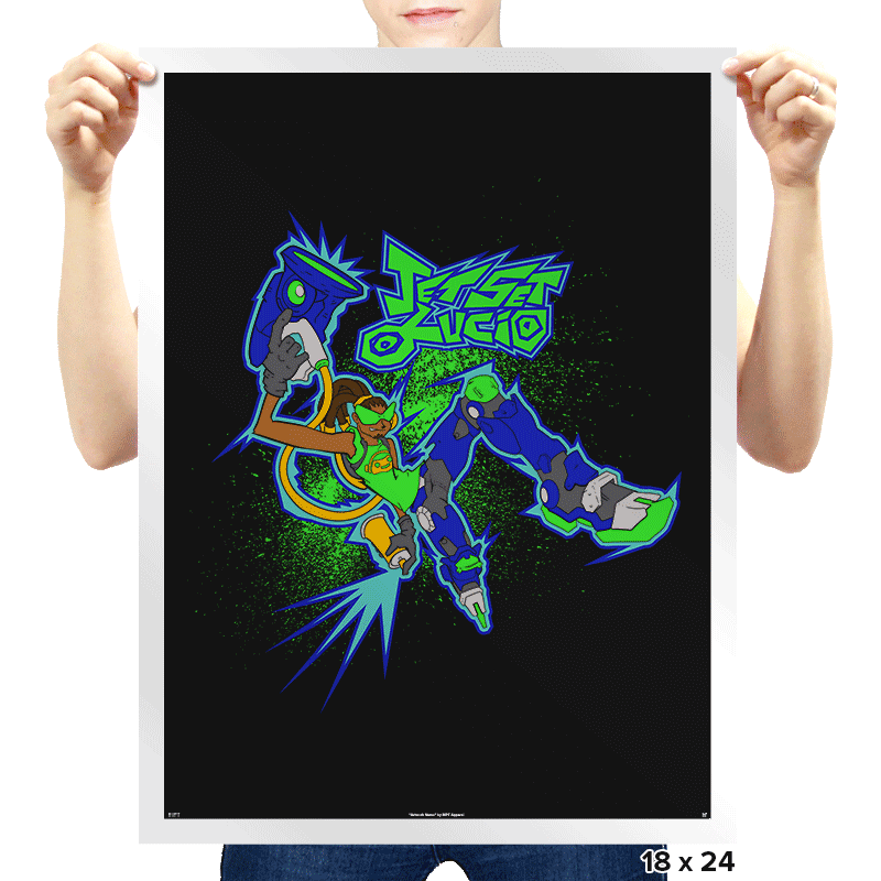 Jet Set Lucio - Prints - Posters - RIPT Apparel