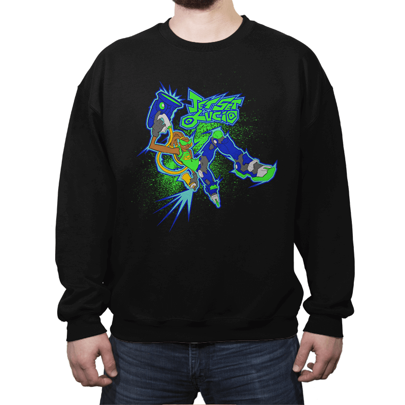 Jet Set Lucio - Crew Neck - Crew Neck - RIPT Apparel