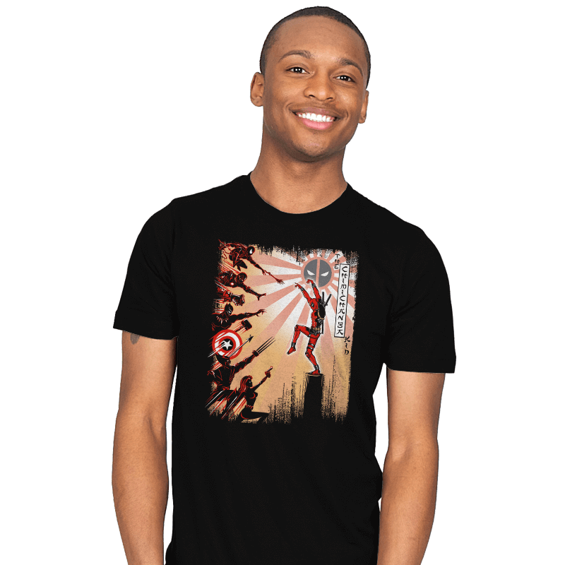 The Chimichanga Kid - Mens - T-Shirts - RIPT Apparel