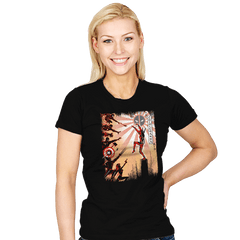 The Chimichanga Kid - Womens - T-Shirts - RIPT Apparel